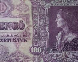 Hungary Száz (100) Pengő 1930 king Matthias (Mátyás)