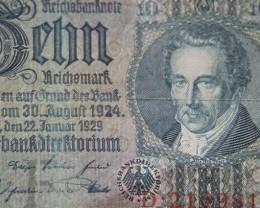 Germany 10 Reichsmark 1929 Berlin