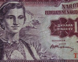 Yugoslavia 100 Dinara 1955 Beograd
