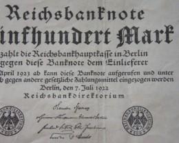 Germany 500 Mark 1922 Berlin