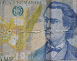 Romania 1000 Lei 1998 Mihai Eminescu 1850-1889