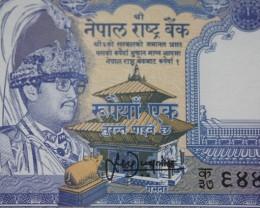 Burma Re.1 banknotes UNC