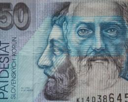 Slovakia 50 Korun 2002 Bratislave