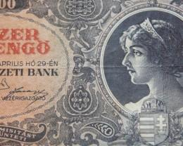 Hungary Tízezer (10.000) Milpengő 1946