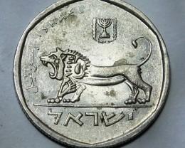Israel 1/2 Sheqel 5740 (1980) KM#109.1