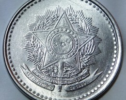 Brazil 1 Cruzado 1987 KM#605