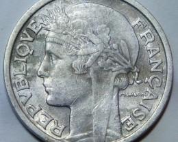 France 2 Francs 1947 KM#886a