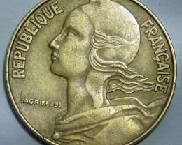 France 20 Centimes 1964 KM#930