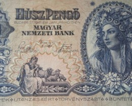 Hungary Húsz (20) Pengő 1941. Pick 109