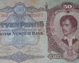 Hungary Ötven (50) Pengő 1932. Pick 99
