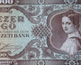 Hungary Százezer (100.000) Pengő 1945