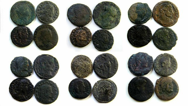 parcel ancient coins to grade