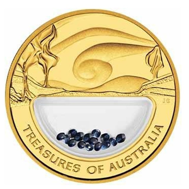 Perth Mint gold treasures coin