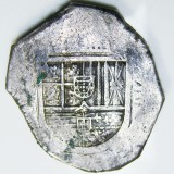 spanish 8 reale silver coin