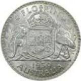 silver florin coin