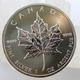 canadian silver coinj