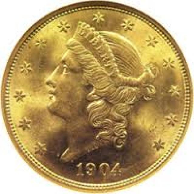 1904   Liberty Gold Coin