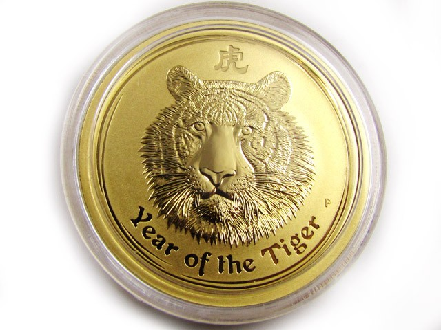 tiger gold coin