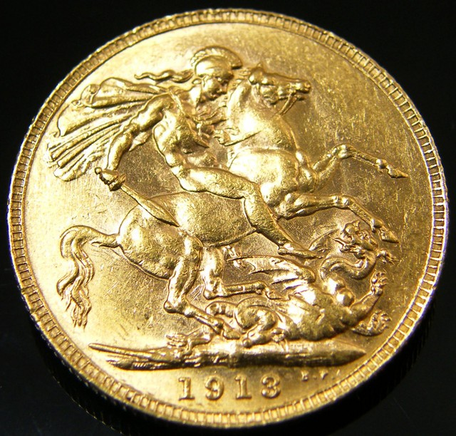 gold sovereign coin
