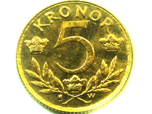 kronor gold coin