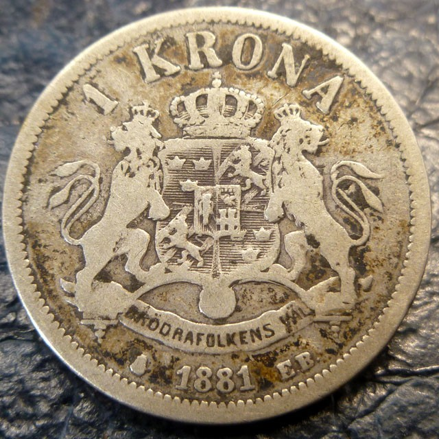 silver coin sweden