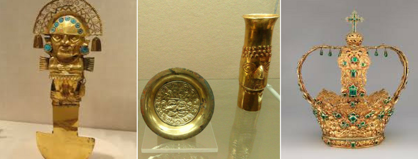 What happened to the Plundered Incas Gold? | Coins Auctioned