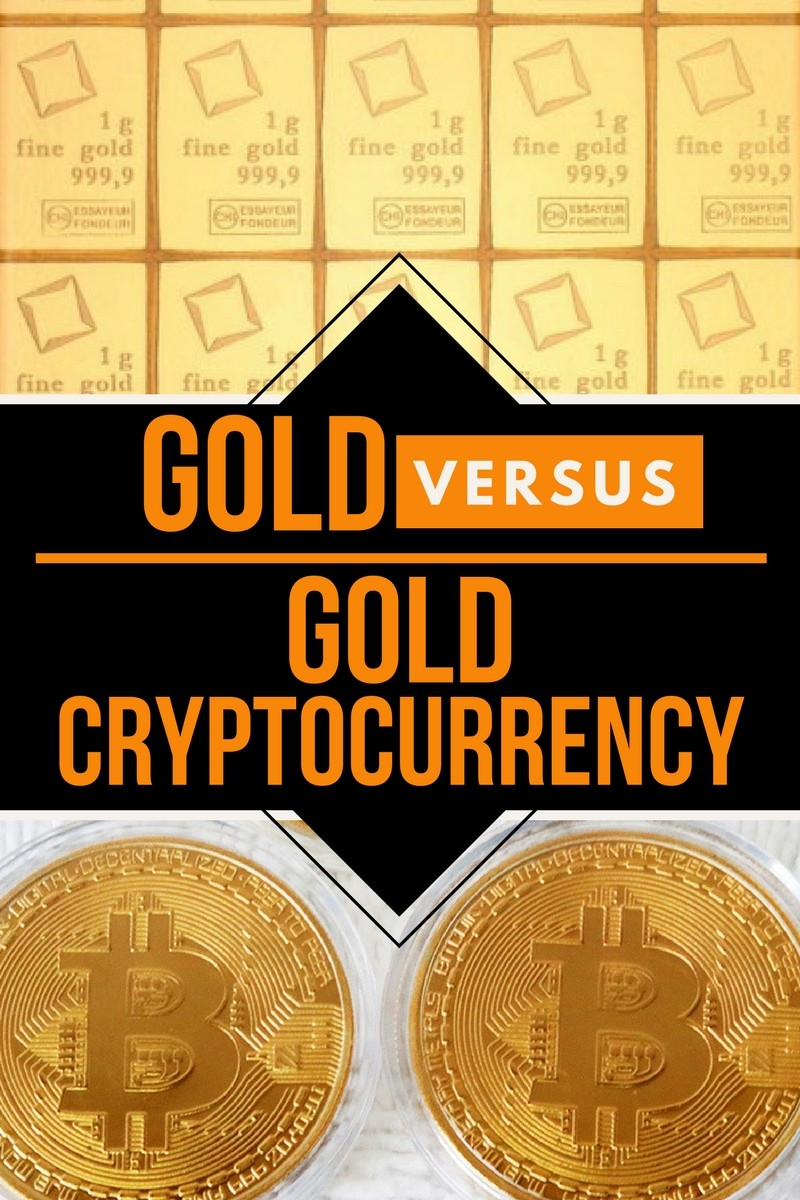 gold versus gold cryptocurrency