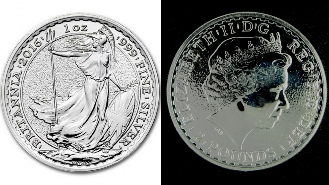 Britannia coin royal mint