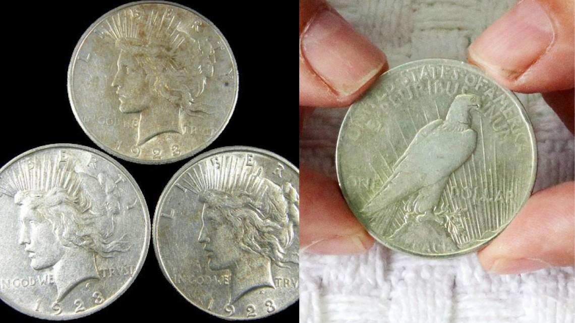 peace dollar 1922 1923
