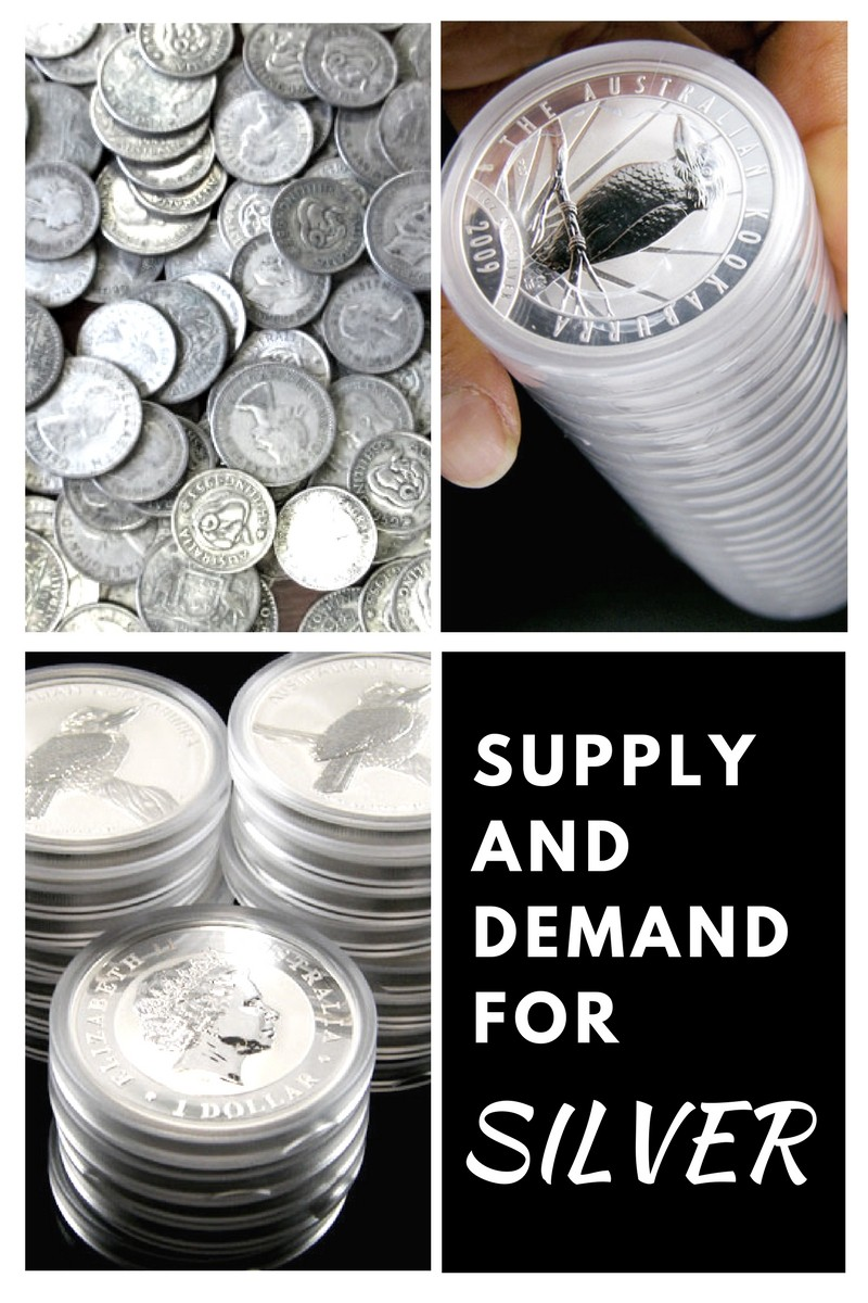 supply and demand for silver