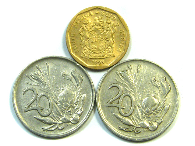 PARCEL3 SOUTH AFRICA COINS   J 53