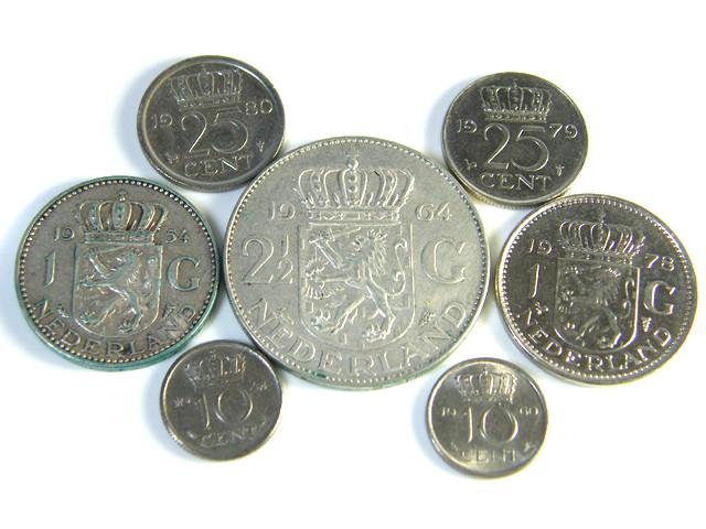 PARCEL 6 NEDERLAND COINS 1964 1980 J 92