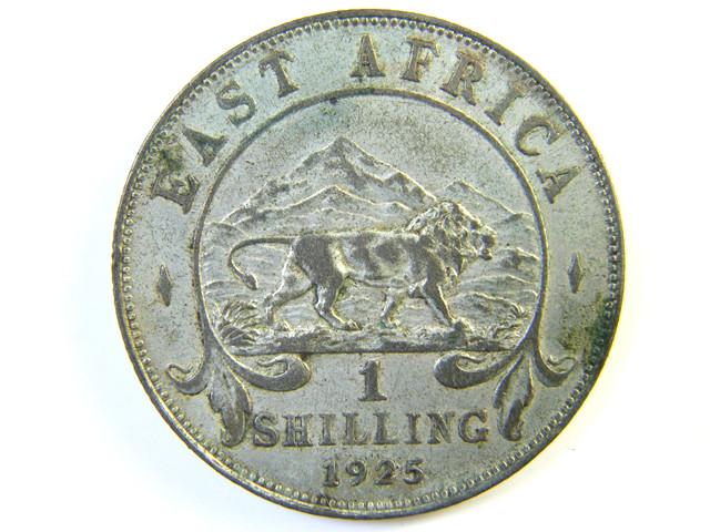 BRITISH EAST AFRICA 1 SHILLING 1925   J 114
