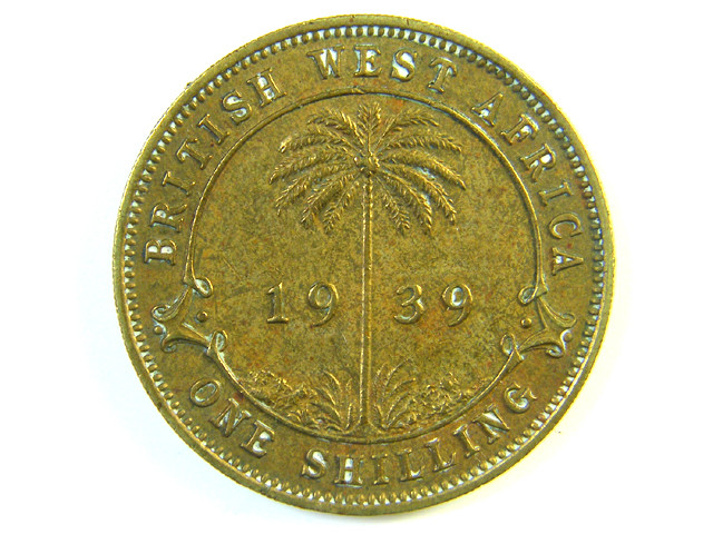 BRITISH EAST AFRICA 1 SHILLING 1939   J 120
