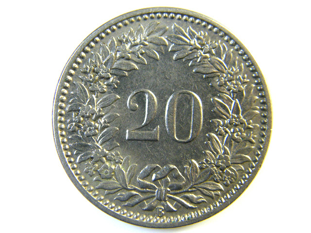 20 FRANC SWITZERLAND COIN1912   J 151