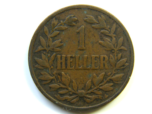 GERMAN  EAST AFRICA 1 HELLER  1904 COIN  J 245