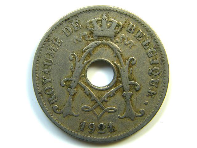 10 C BELGIUM 1921 J 257