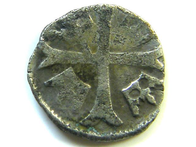 ANCIENT HUNGARIAN PARVUS  SILVER COIN   J 317