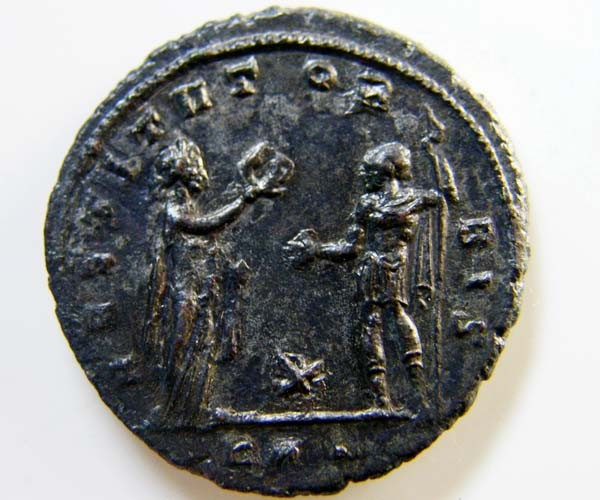 ROMAN PROVINCIAL AURELIAN ANTONINIANUS   CODE  AC 17