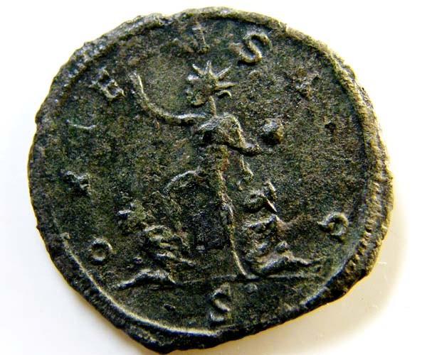 ROMAN PROVINCIAL COIN    AURELIAN ANTONINIANUS    CODE  AC26