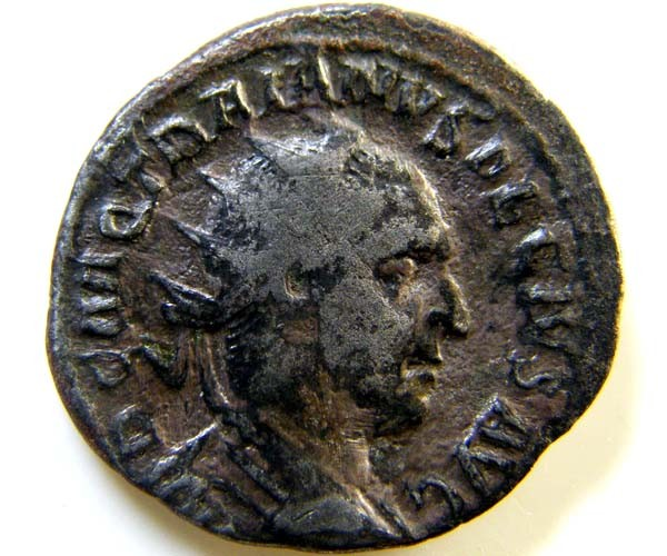 ROMAN PROVINCIAL COIN  TRAJAN DECINS ANTONININUS  AC40