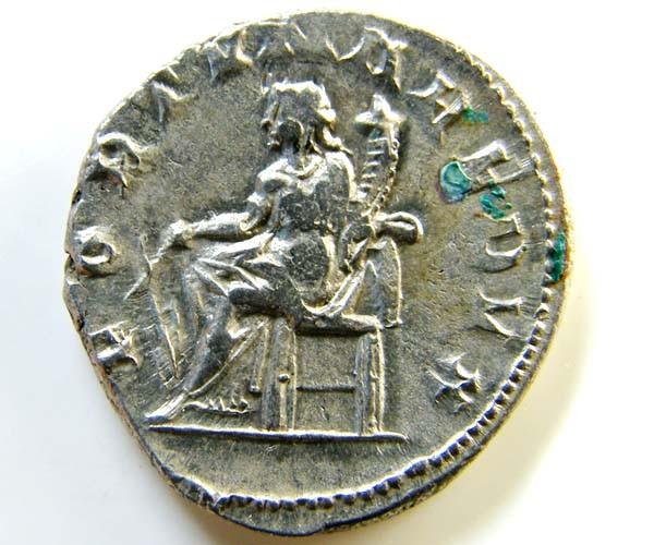 ROMAN PROVINCIAL COIN  SILVER     GORDIAN ANTONINIANUS  AC43
