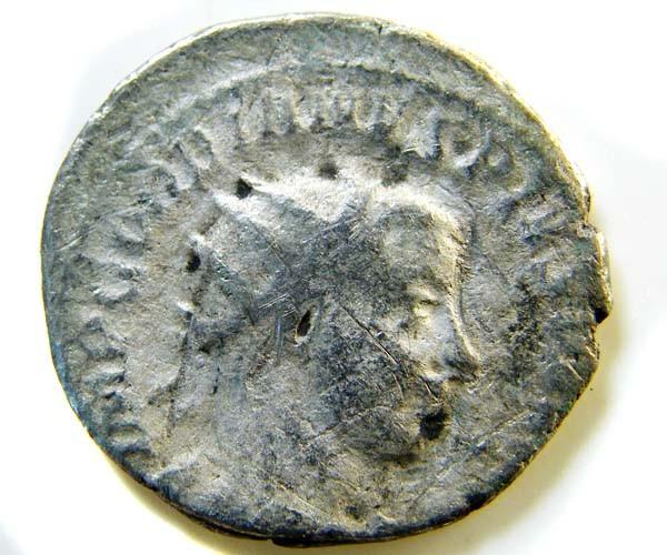 ROMAN PROVINCIAL COIN GORDIAN 111 ANTONINIANUS     AC 62