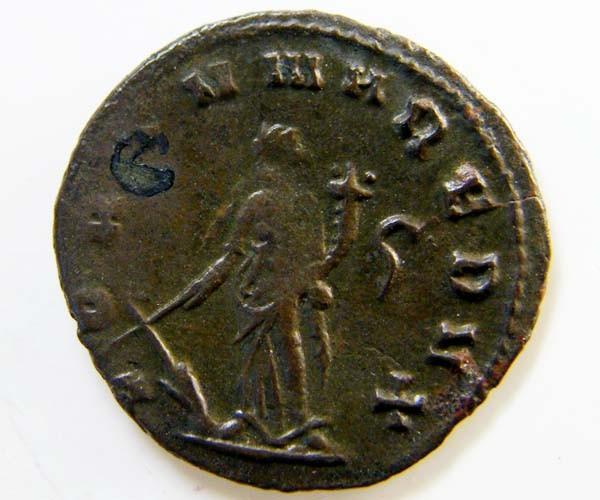 ROMAN PROVINCIAL COIN GALLEIENIUS ANTONINANUS    AC 69