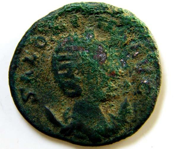 ROMAN PROVINCIAL COIN  SALONIA  ANTONINANUS    CODE  AC72