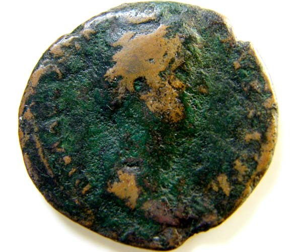 LARGE ROMAN PROVINCIAL COIN       FAUSTINA SR  C ODE  AC73