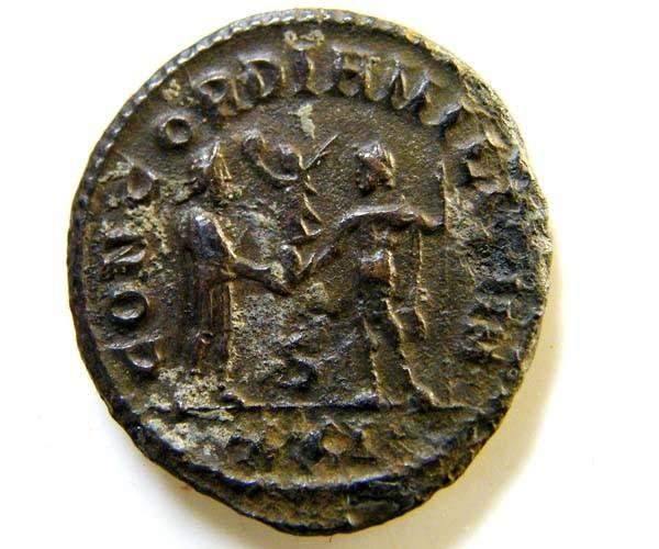 ROMAN PROVINCIAL    DIOCLETIAN  ANTONINANUS  CODE  AC 74