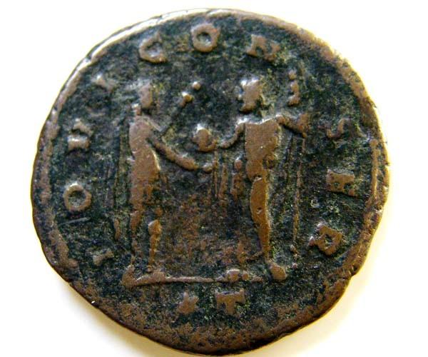 ROMAN PROVINCIAL COIN  AURELIAN ANTONINIANUS CODE  AC 76
