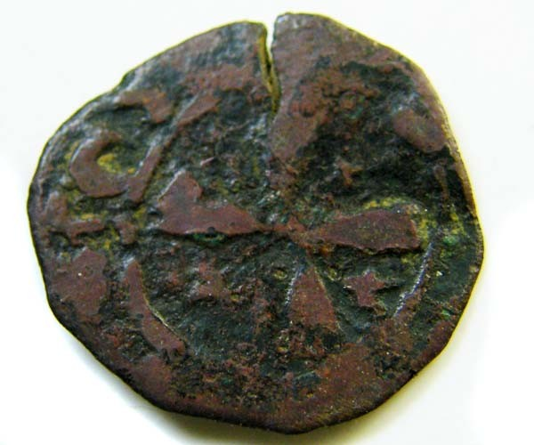 King Janos circa 1398 - 1432 billon denier  CODE AC 124