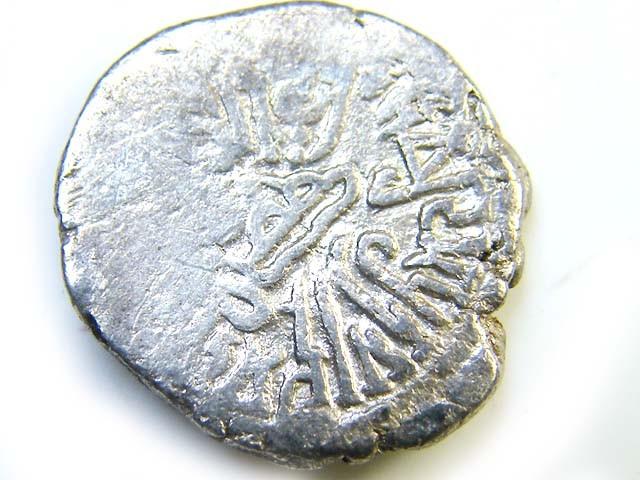 silver drachms  Western Kshatrapas, India, 2nd-4th cen AC144